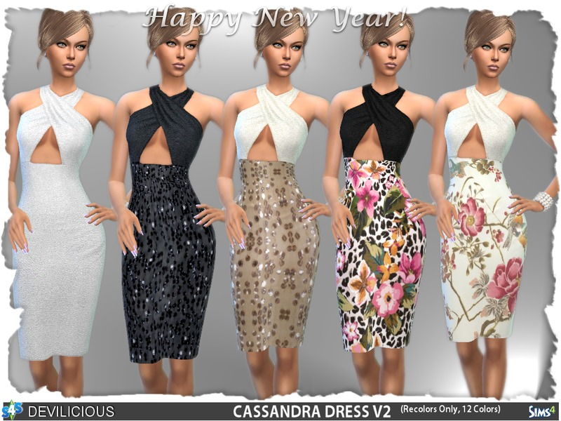 Cassandra Dress V2  BY Devilicious