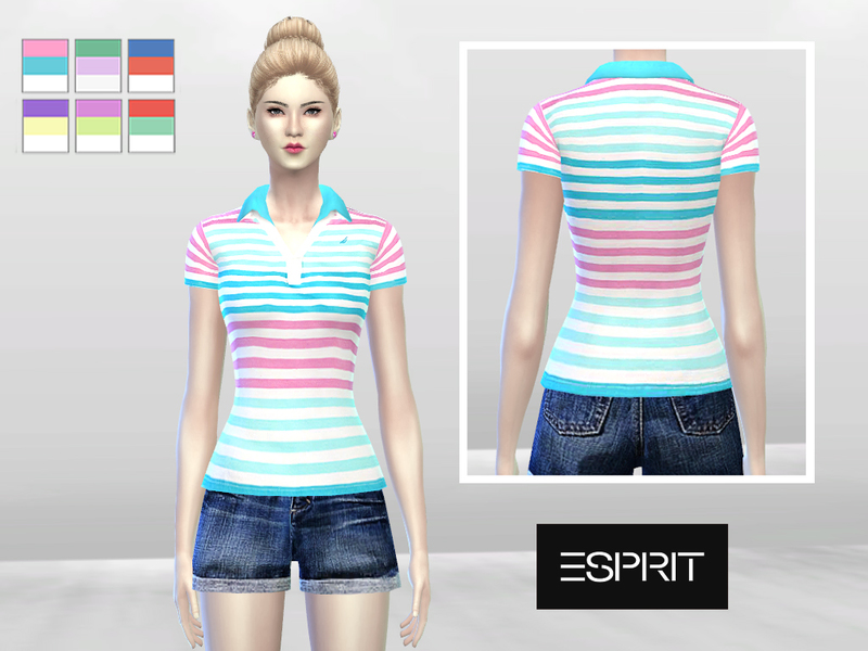 Double Pastel Polo  BY McLayneSims