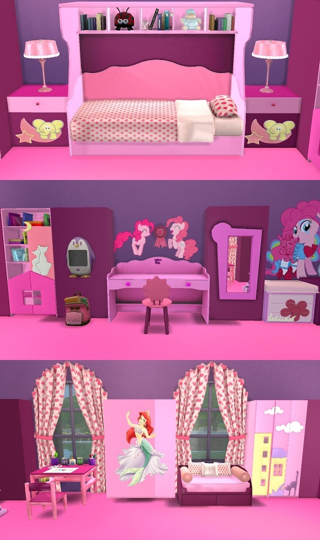 Kid's Bedroom Set by SanjanaSims