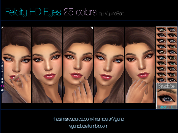 Felicity HD Eyes by Vyuna
