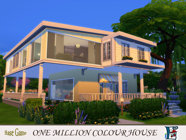 One million colour House by evi