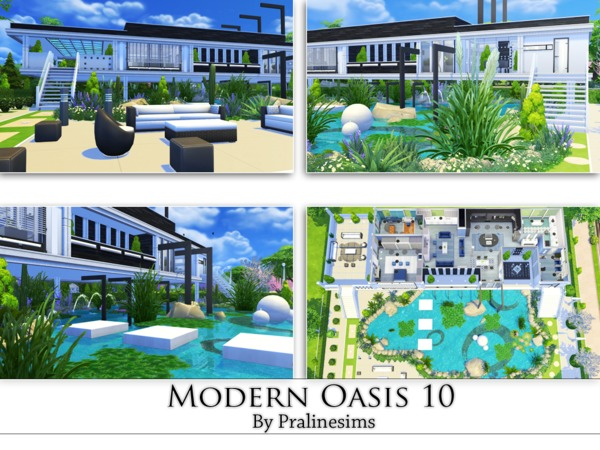 Modern Oasis 10 by Pralinesims