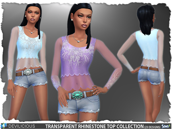 Transparent Top Collection by Devilicious