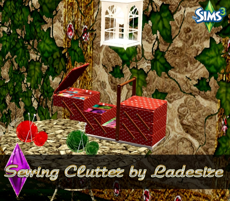 Sewing Clutter by Ladesire