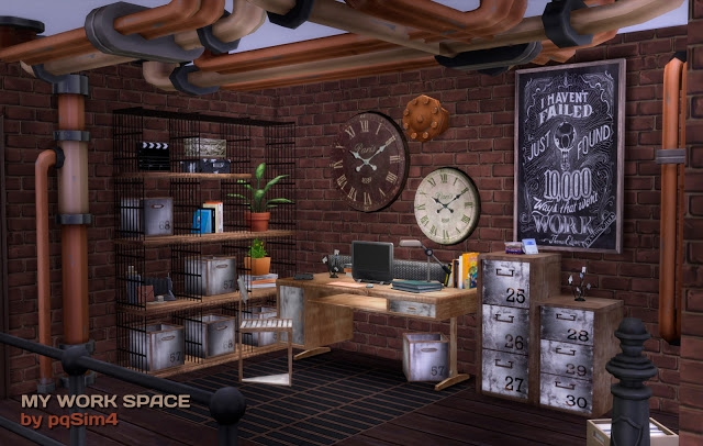 My Work Space by pqsim4