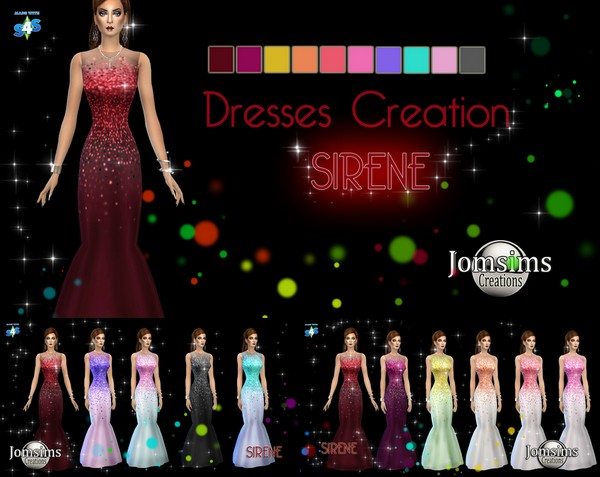 Sirene Dress JomSims