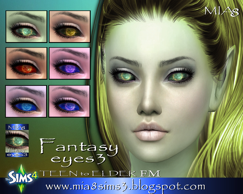 Fantasy eyes3 by Mia8