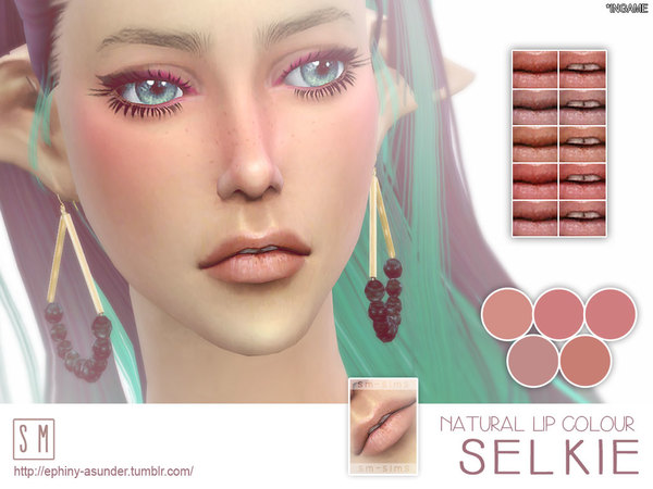 [ Selkie ] - Natural Light Lip Colour by Screaming Mustard