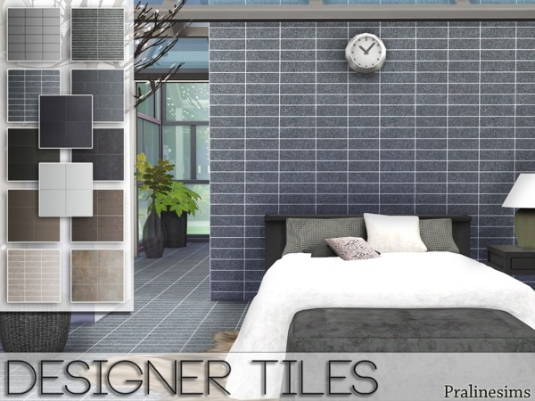Designer Tiles by Pralinesims
