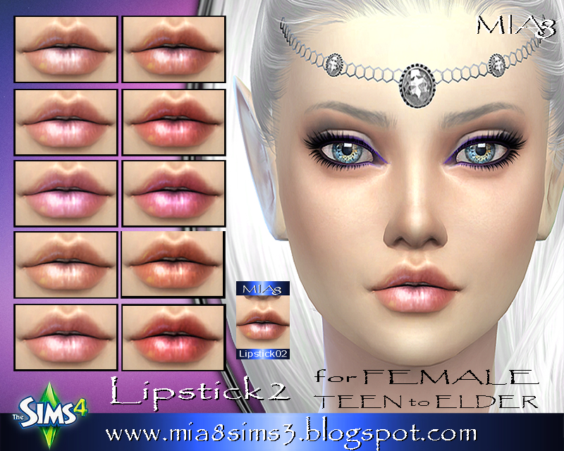 Lipstick2 for Female by Mia8