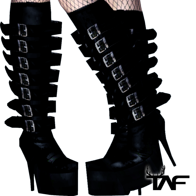 TAF - Gothic Boots by theandyfhels