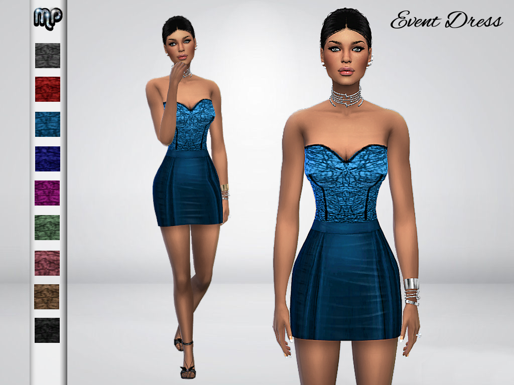 MP Event Dress by MartyP
