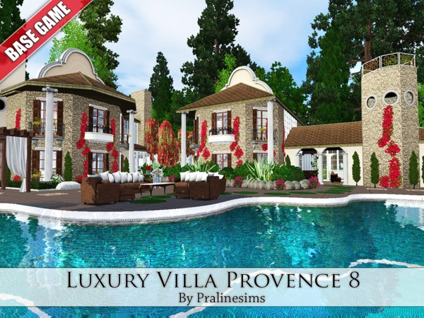 Luxury Villa Provence 8 by Pralinesims