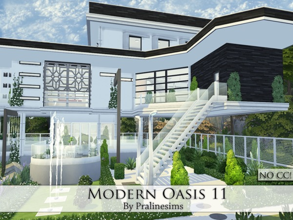 Modern Oasis 11 by Pralinesims