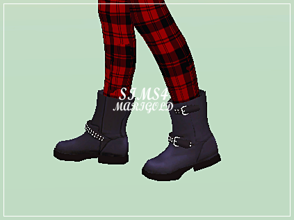 engineer boots_short version by marigold