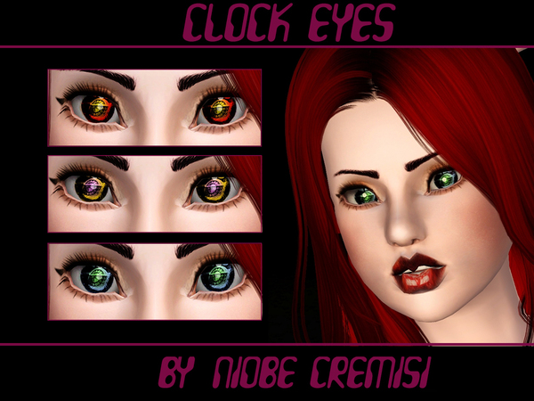 Clock Eyes by niobe cremisi