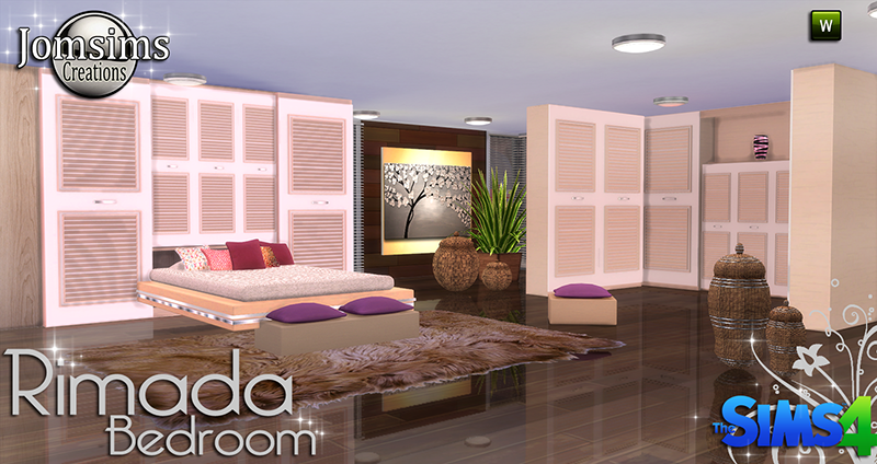 Rimada Bedroom Set by JomSims