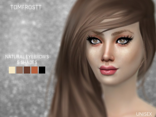 Natural Eyebrows (Unisex) by tomfrostt