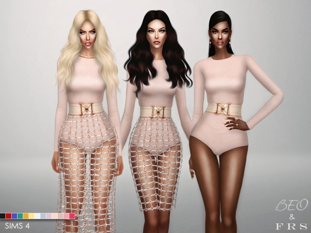 Balmain Inspiration Collection by BEO & fashionroyaltysims