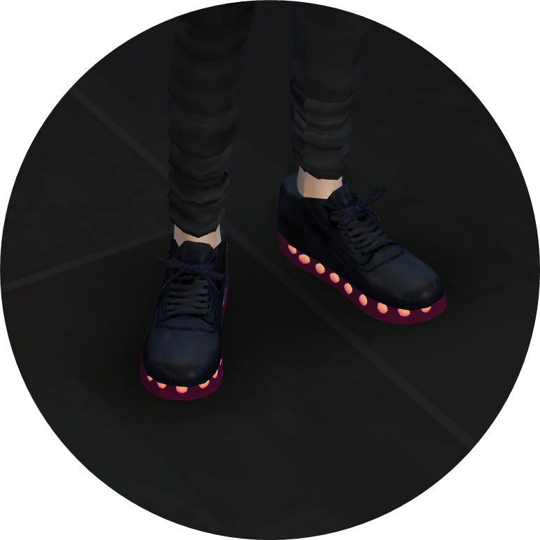 male_v2_light emission sneakers_transparent sole version sims4marigold
