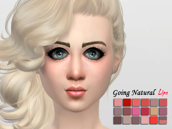 Going Natural Lipstick by McLayneSims