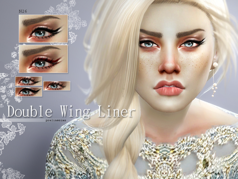 Double Wing Liner N26 BY Pralinesims