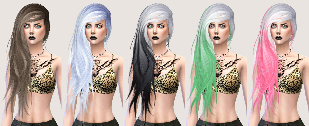 salem2342 Stealthic Vanity Hair Retexture (TS4)