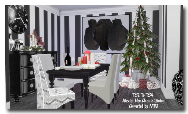 S2 Alexis Neo Classic Dining Conversions by MsTeaQueen