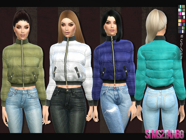 126 - Padded jacket by sims2fanbg