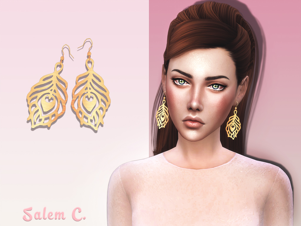 Plume Earrings by SalemC