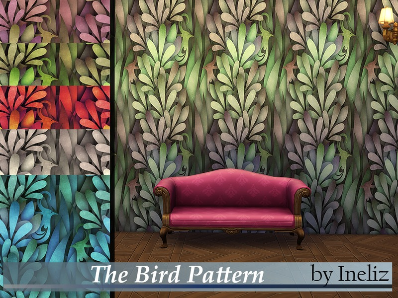 The Bird Pattern BY Ineliz