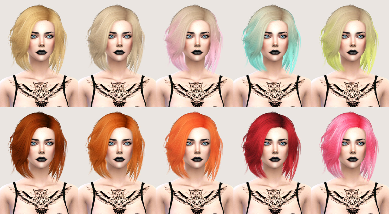 salem2342 Stealthic Vapor Hair Retexture (TS4)