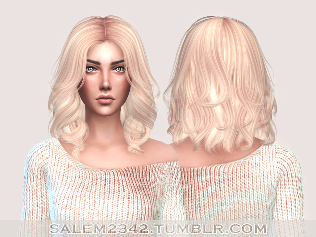 salem2342 Anto Hair Mollie Retexture (TS4)