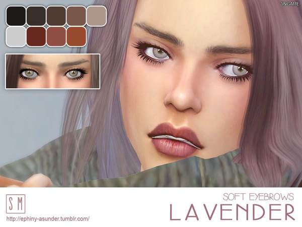 [ Lavender ] - Soft Eyebrows by Screaming Mustard
