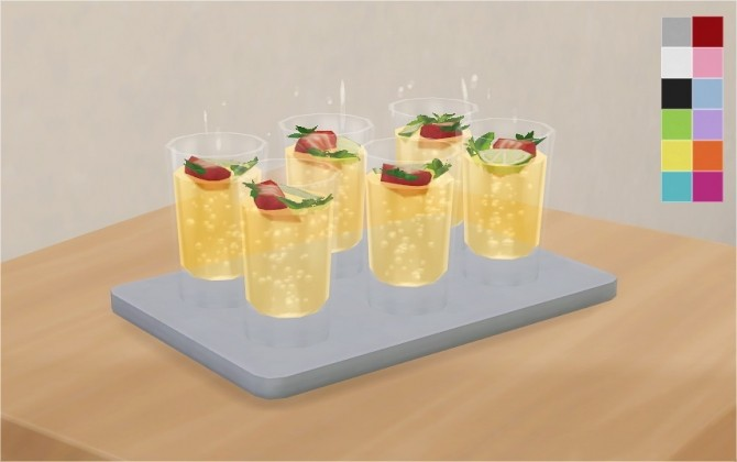 SIMPLE DRINK TRAY AT VERANKA