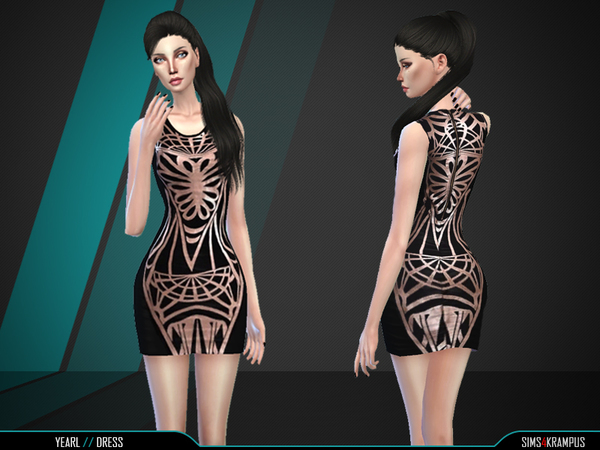 Yearl Dress by SIms4Krampus