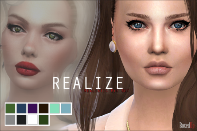 Realize - Realistic Eye Set by boxedup