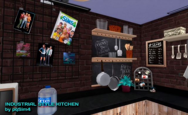 Industrial Kitchen Set by pqsim4