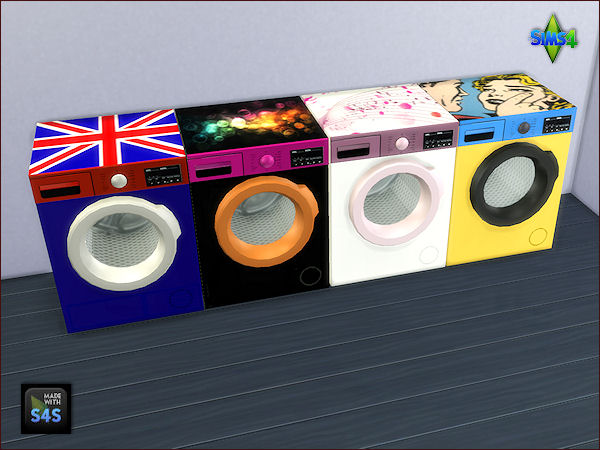4 WASHING MACHINES AND DRYER SETS BY MABRA By  ARTE DELLA VITA