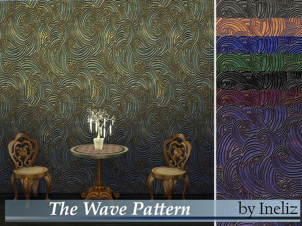 The Wave Pattern by Ineliz