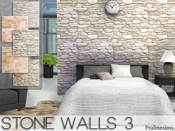 Stone Walls 3 by Pralinesims