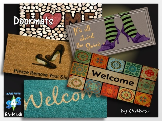 Doormats by Oldbox