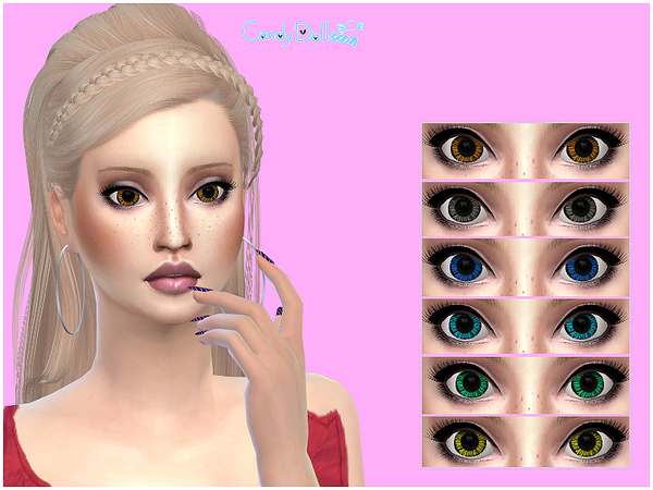 CandyDoll Sweet Eyes Set by DivaDelic06