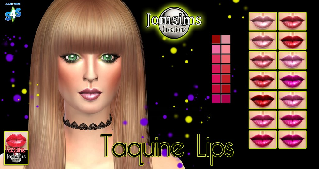Taquine lips by JomSims