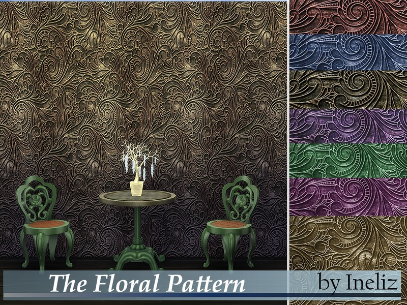 The Floral Pattern  BY Ineliz
