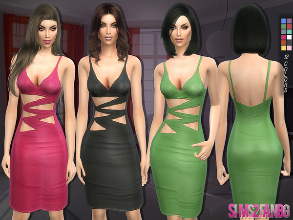 127 - Pencil dress by sims2fanbg