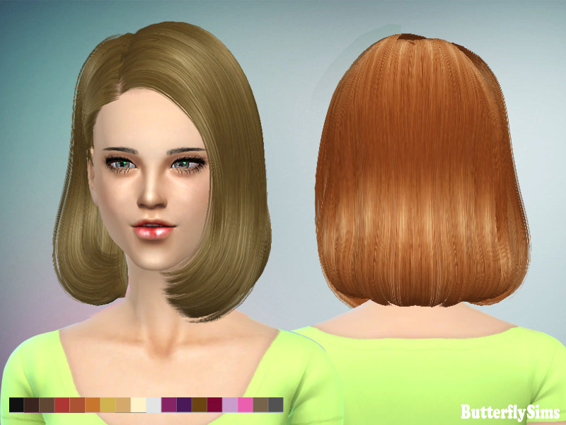 Butterflysims 150 Hair for Females