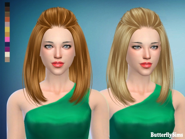 Hairstyle187 No hat by Butterflysims