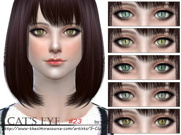 S-Club WM thesims4 Eyecolor 23