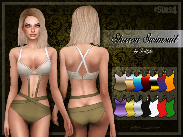Sharon Swimsuit by trillyke